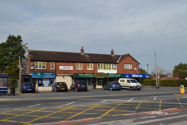 Shopping Parade, Lytham Road, Warton, near Preston - 1