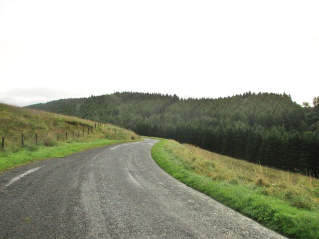 On the road to Loch Ettrick