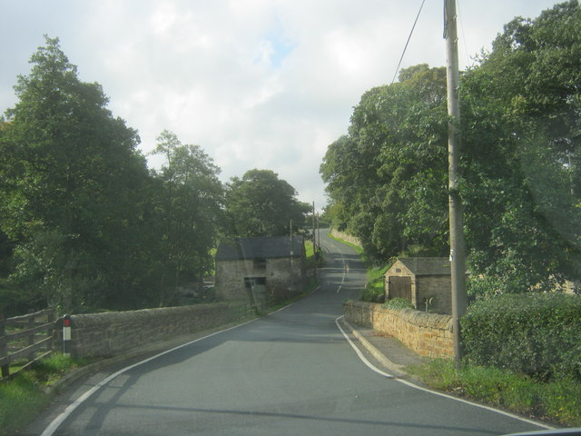 Bridge for Healeyfield Lane over Horsleyhope Burn