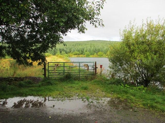 A gate at Loch Ettrick