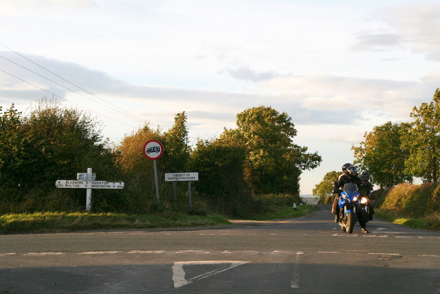 Riding south from North Riding