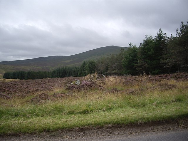 Looking south from the A941
