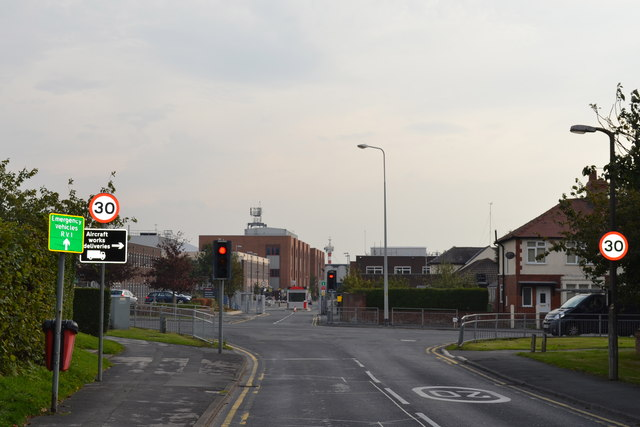 Church Road and Lytham Road Junction, Warton, near Preston