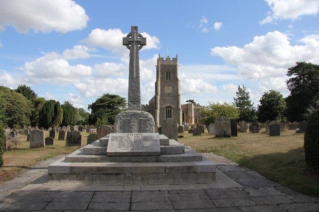 Loddon war memorial