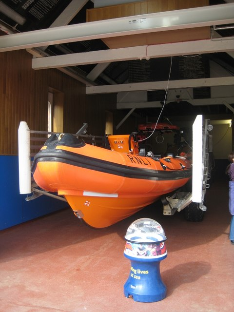 'Pride of Leicester' RNLI lifeboat #1