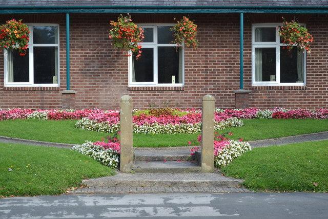 Village Hall Gateposts, Church Road, Warton, near Preston