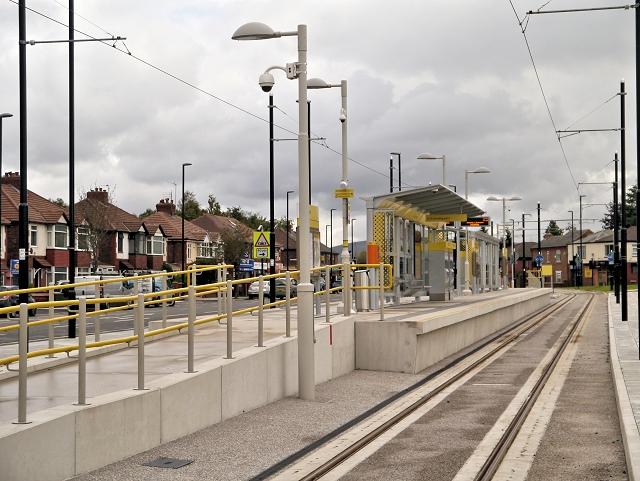 Metrolink Tram Stop, Audenshaw