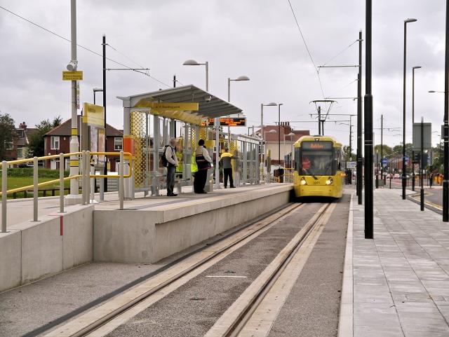 Audenshaw Metrolink Stop