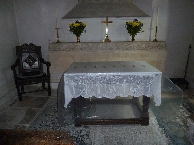 Inside St. Peter, Purse Caundle (i)
