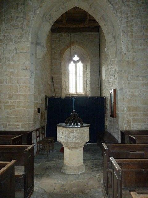 Inside St. Peter, Purse Caundle (j)