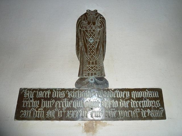 St. Peter, Purse Caundle: memorial (V)