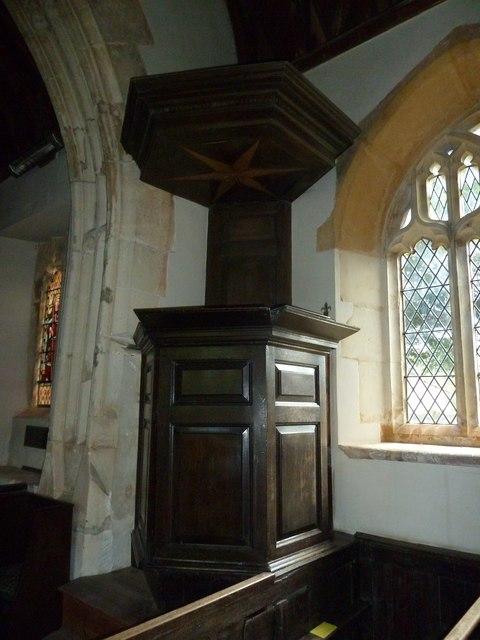 St. Peter, Purse Caundle: pulpit