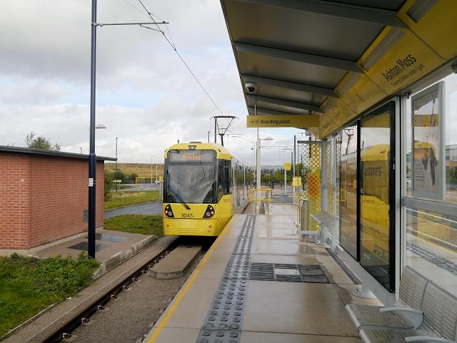 Metrolink Extension, Ashton Moss