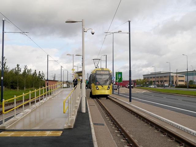 Ashton Moss Tram Stop