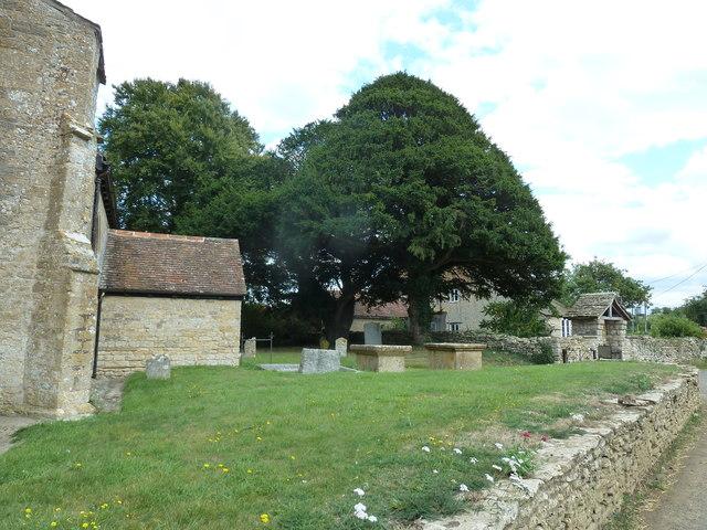 St Peter, Purse Caundle: churchyard (A)