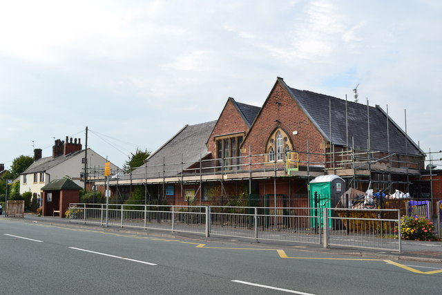 St Paul's Primary School, Lytham Road, Warton, near Preston