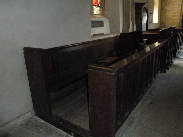 St Peter, Purse Caundle: choir stalls