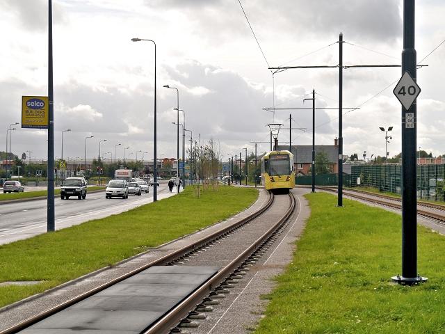 Metrolink Tramway, Ashton Moss