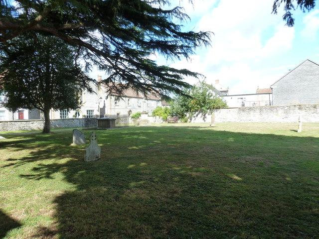 Saint Mary Major, Ilchester: churchyard (c)