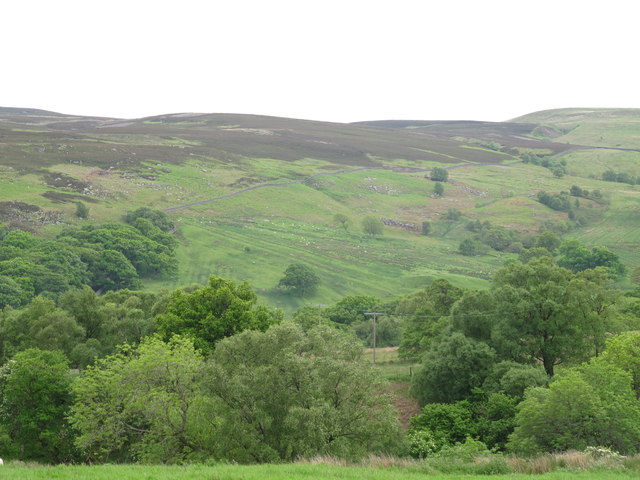 The wooded valleys of Penchford and Grasslees Burns