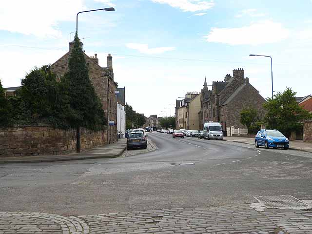 North end of Dalkeith High Street
