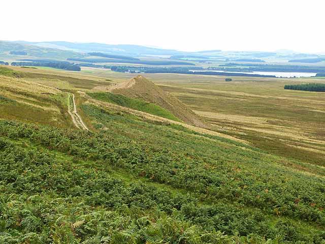 Escarpment of the Moorfoot Hills