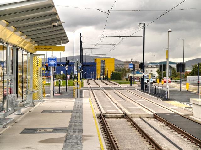 Metrolink Stop at Ashton West