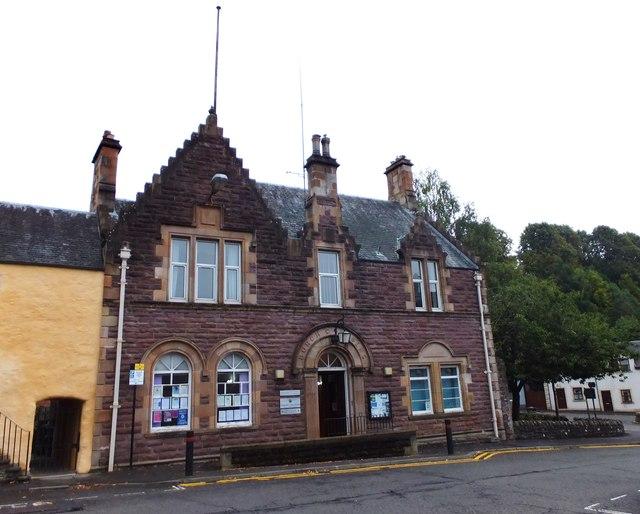Burgh Chambers, Dunblane