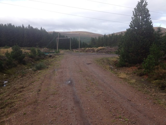 Forestry road near Strath Rory
