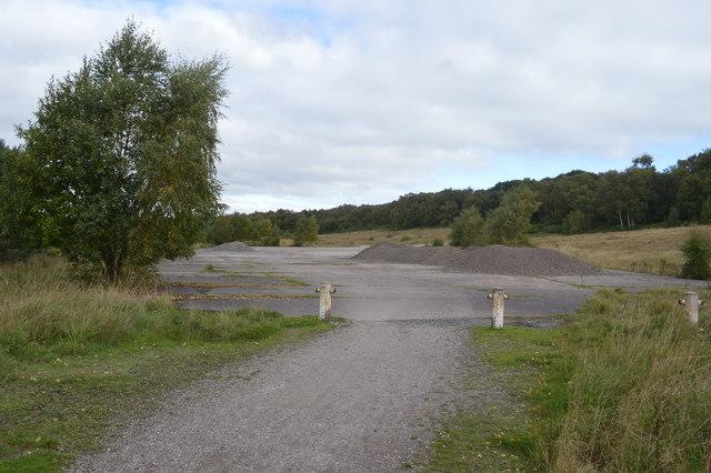 Former colliery shunting yard
