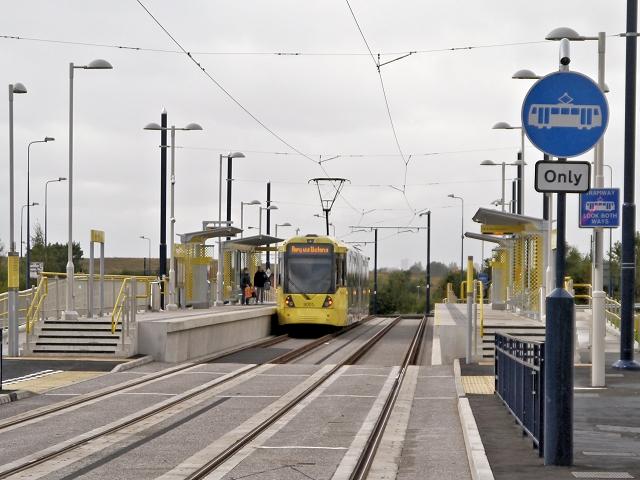 Ashton West Tram Stop