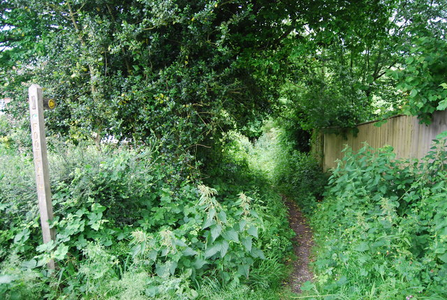 Footpath off Willingford Lane