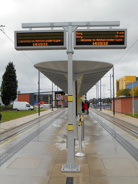 Ashton-Under-Lyne Metrolink Terminus