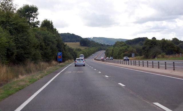 A449 heading south