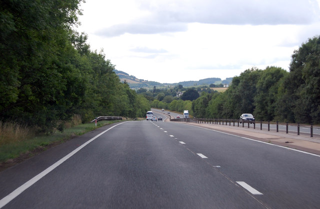 A449 south of Llantrisant