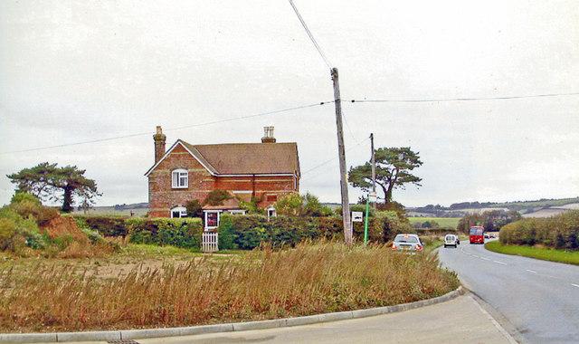 Site of former Horringford station
