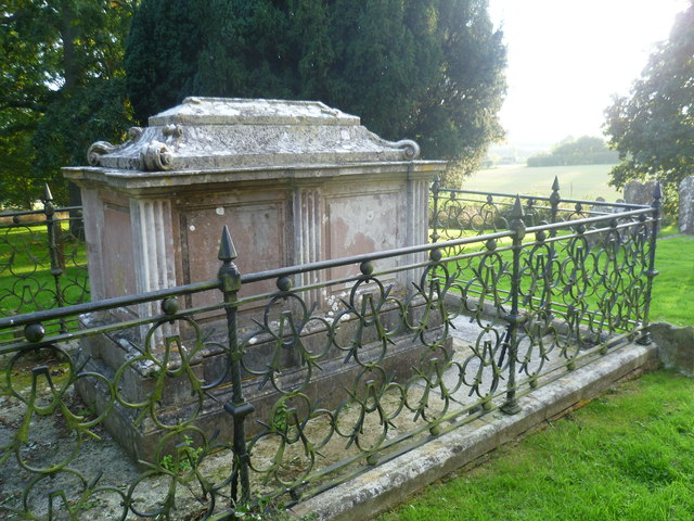 The Austen tomb, Horsmonden Churchyard