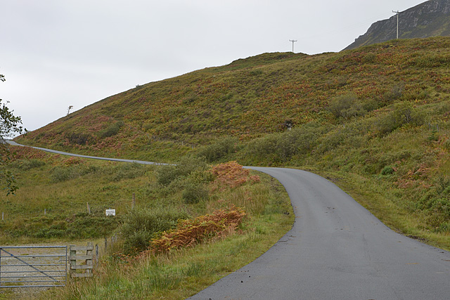 Road past the cemetery