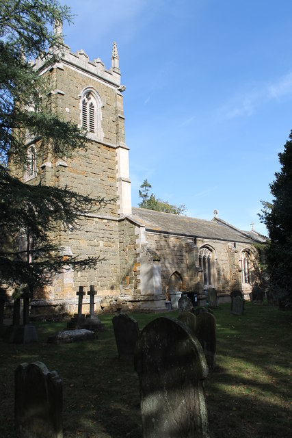 St Mary's church, Manby