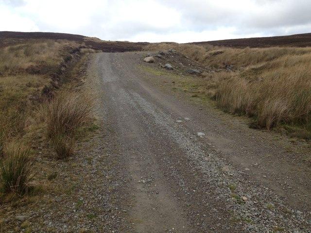Estate road near Gledfield
