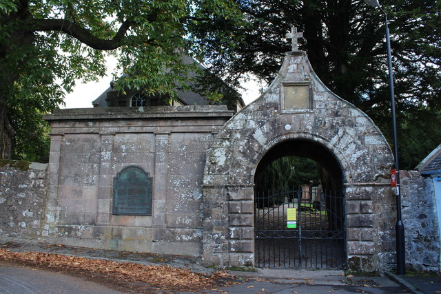 Entrance to Kirkmichael Church