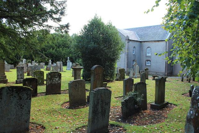 Graveyard & Church, Kirkmichael