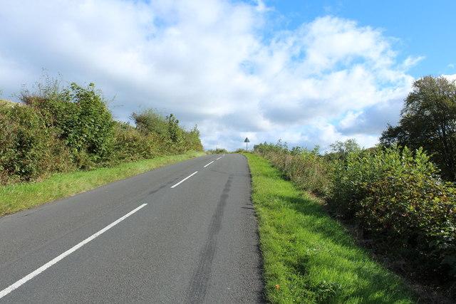 Road to Patna near Kirkmichael