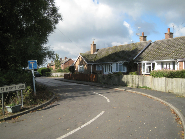 Bungalows, St Mary's Close, Priors Hardwick