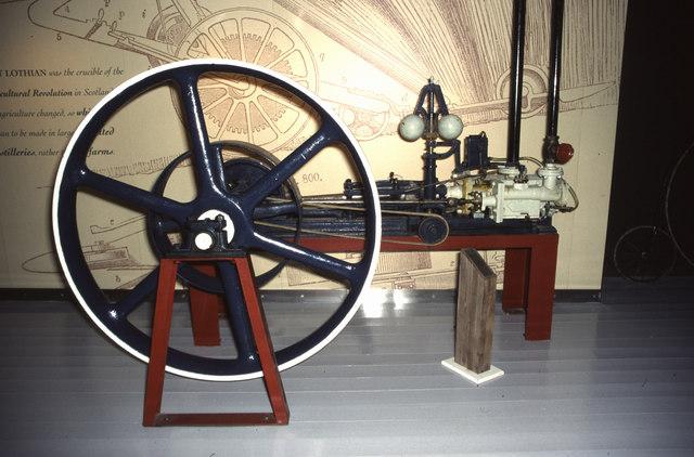 Glenkinchie Distillery - steam engine