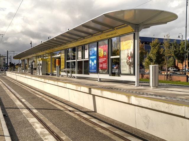 Tram Terminus at Ashton