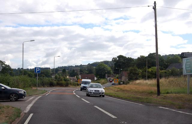 A30 entering Monkton