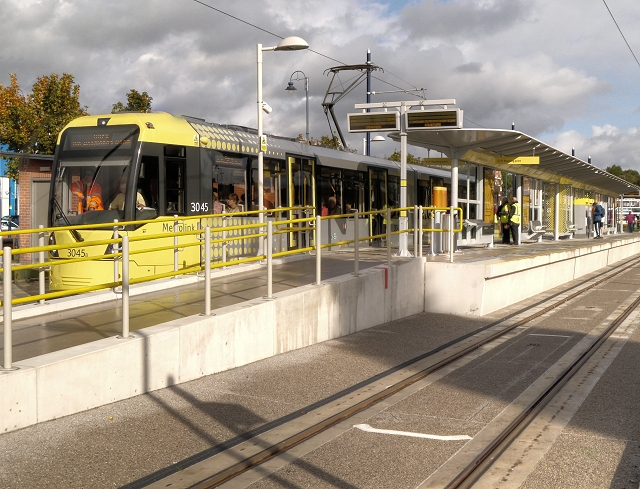Metrolink Tram at Ashton