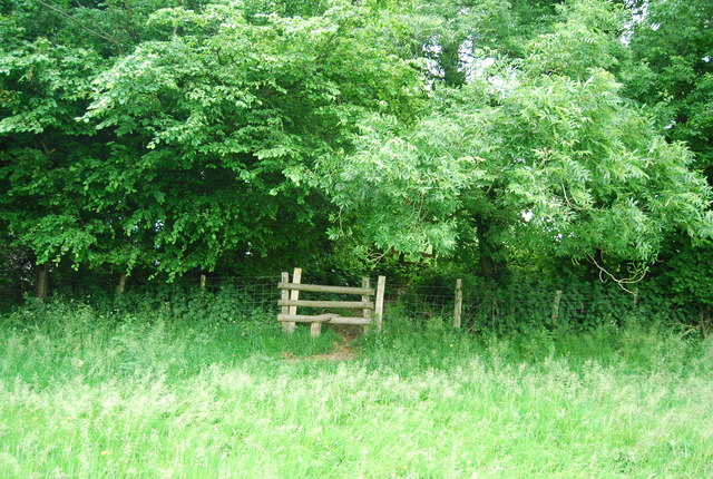 Stile near West Down Farm