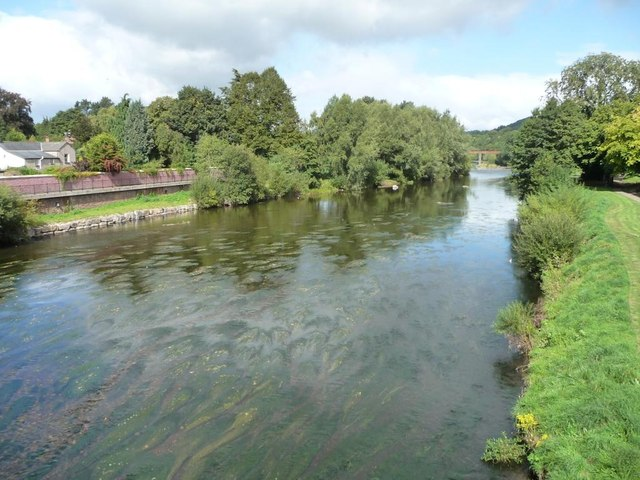 The Usk at Usk